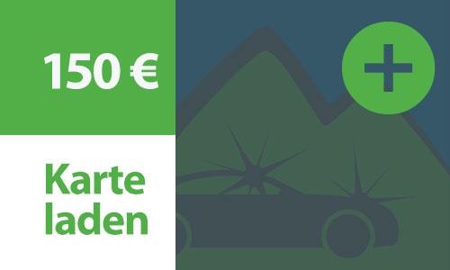 Kartenladung 150 €
