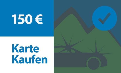 Prepaid Kundenkarte 150 €