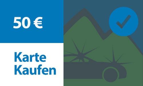 Prepaid Kundenkarte 50 €